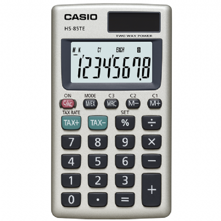 Casio HS-85TE Pocket Calculator